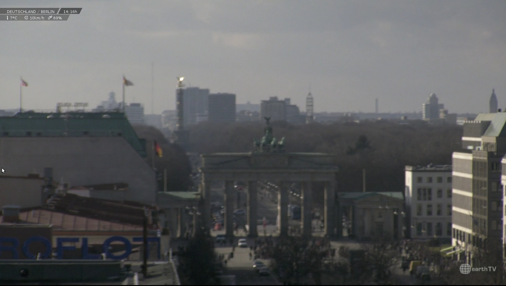 Webcam Berlin Brandenburger Tor